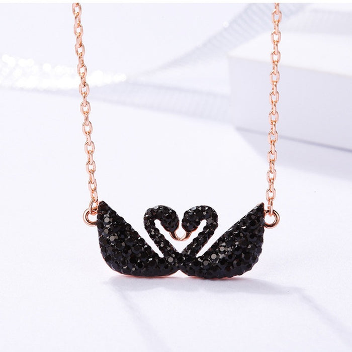 New diamond swan jewelry fashion necklaces