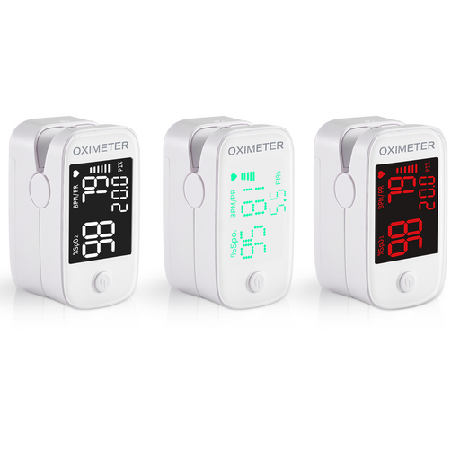 Digital Fingertip Pulse Oximeter Finger Pulse Blood Oxygen SpO2 Monitor (not for Newborn/Infant)
