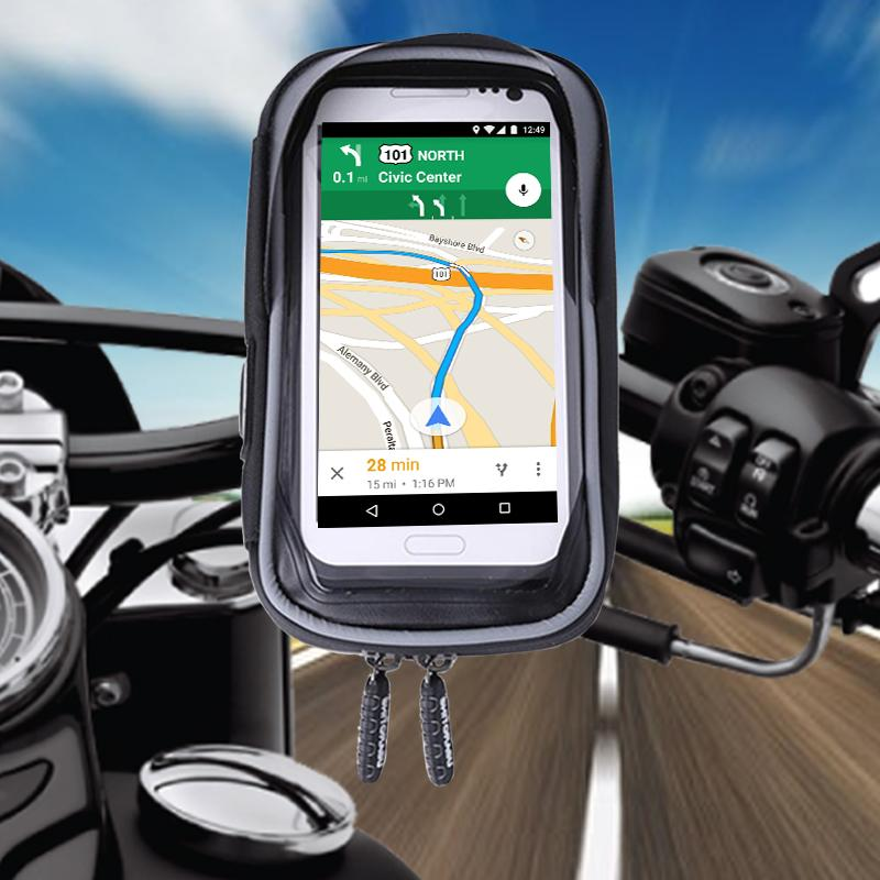 Waterproof Bicycle & Motorcycle Phone Mount