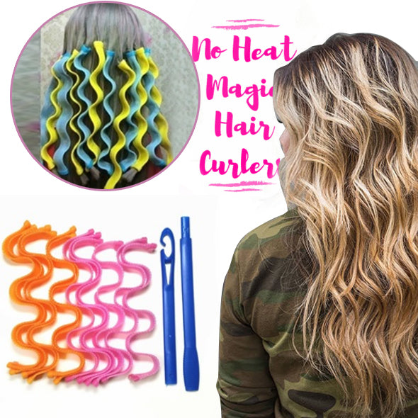 [50% OFF TODAY] No Heat Magic Hair Curlers