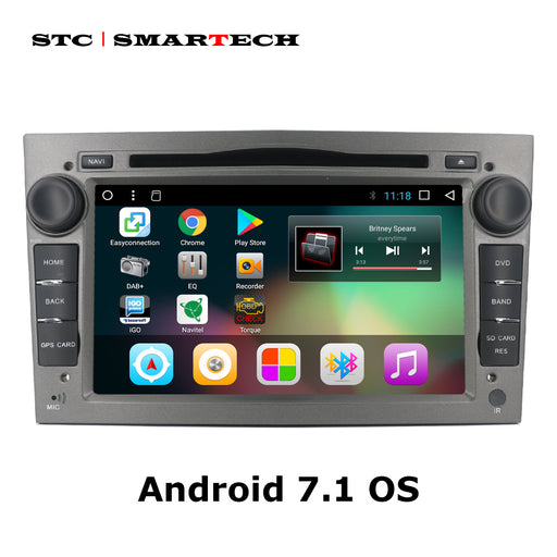 Android 7.1 2Din Car DVD GPS Navigation Autoradio for Opel Astra H G J Antara VECTRA ZAFIRA Vauxhall with CAN-BUS WIFI OBD DVR