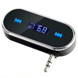 Mini Car SD LCD Remote Control FM FM Transmitter MP3 Music Player 3.5mm Audio Interface with USB Interface Wireless Car Kit