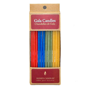 Bright Beeswax Birthday Candles
