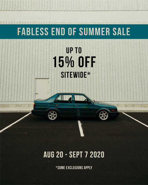 Fabless End of Summer Sale 2020