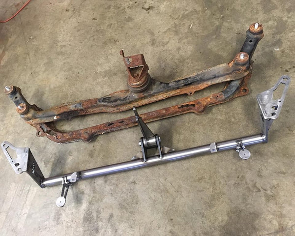 Tubular Front Cross Bar - VW MK3 Golf/Jetta