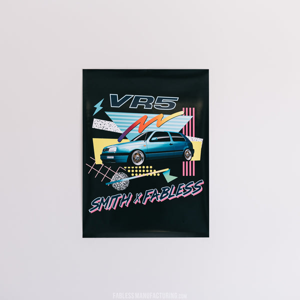 Smith x Fabless VR5 Savoy Poster - 18 x 24
