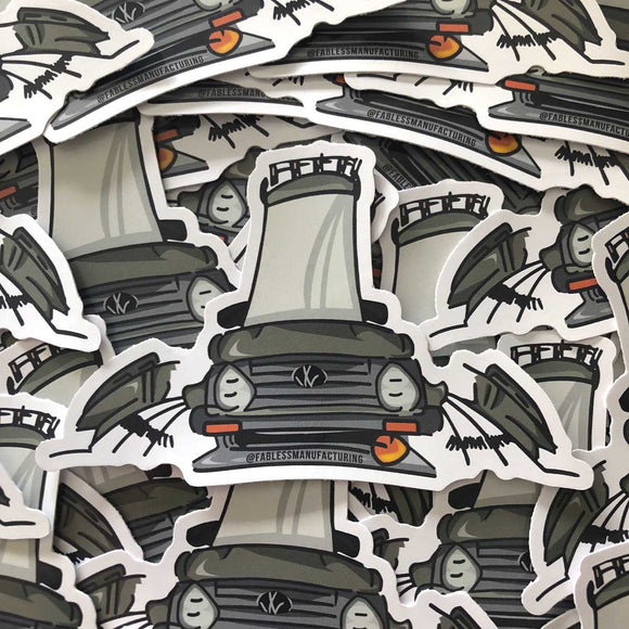MK2 Cartoon Sticker