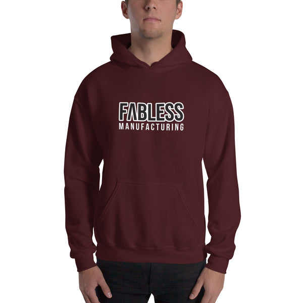 Fabless Printed Hoodie