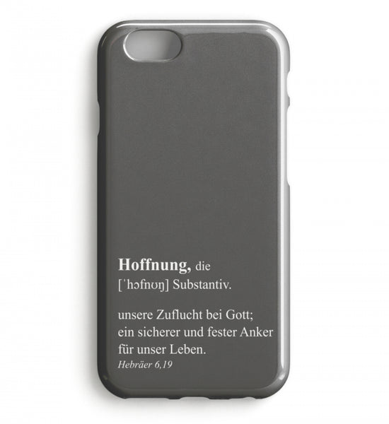 Hoffnung Definition - iPhone-Hülle