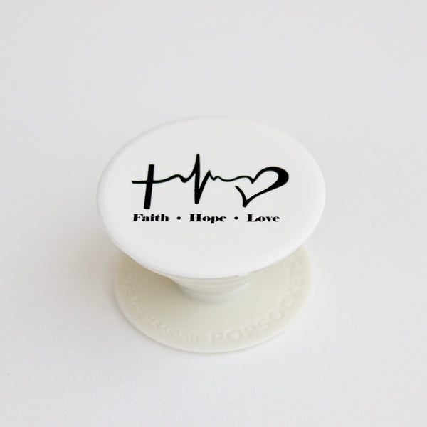 PopSocket Faith Hope Love