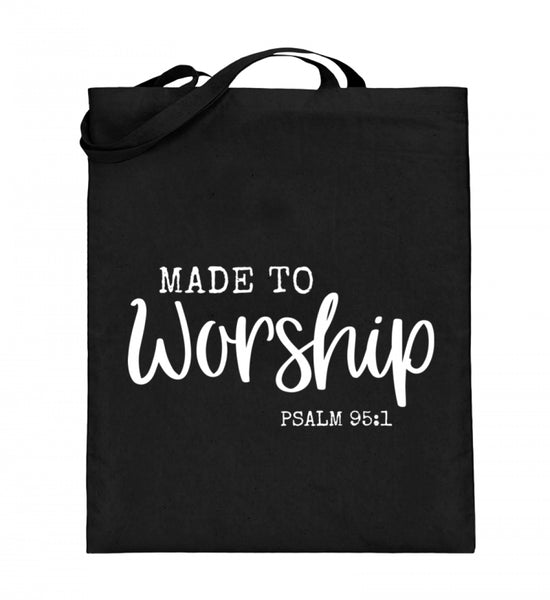 Made to worship - Jutebeutel