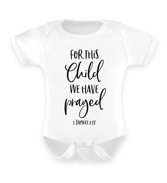 For this Child - Baby Body