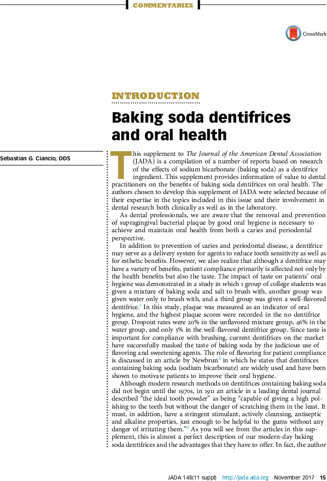Baking Soda and Teeth Health