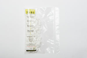 CRUSHTABS - The Healthiest Toothpaste on Earth: 100 Tablet Refill Supply - whitens and freshens teeth