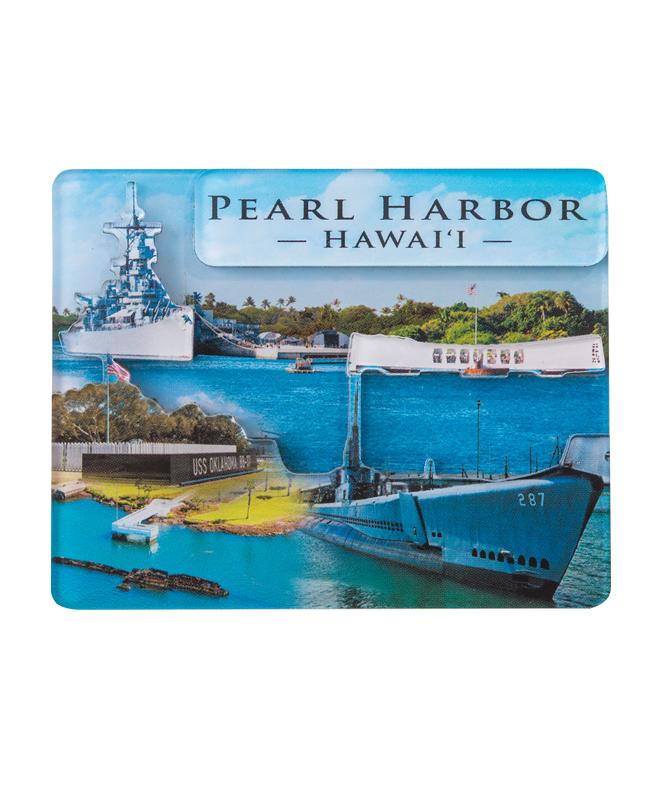 3D Magnet - Pearl Harbor Historic Sites