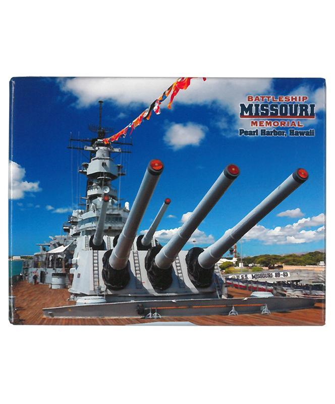 Battleship Missouri Memorial Magnet