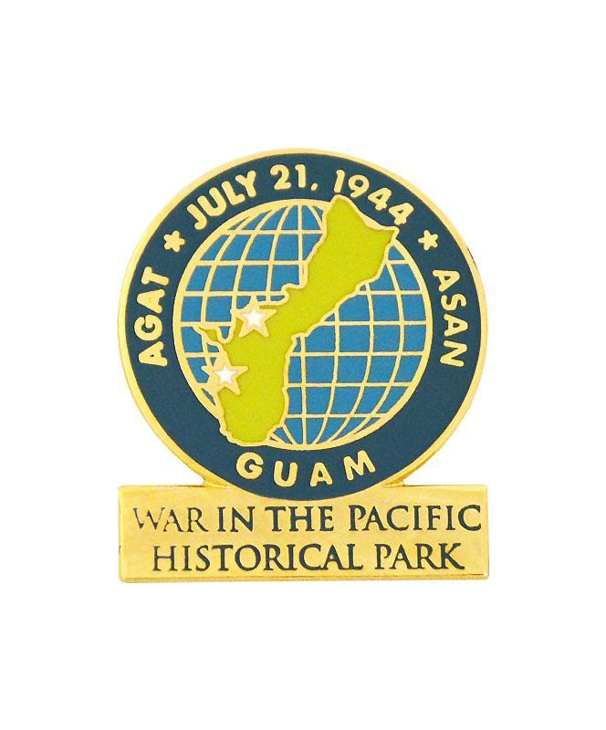 War in the Pacific Historical Park Logo Pin