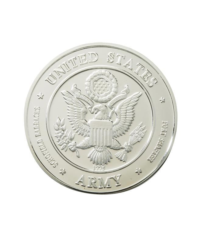 US Army Commemorative Coin Silver Clad
