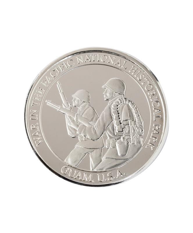 War in the Pacific National Historical Park Commemorative Coin, Silver