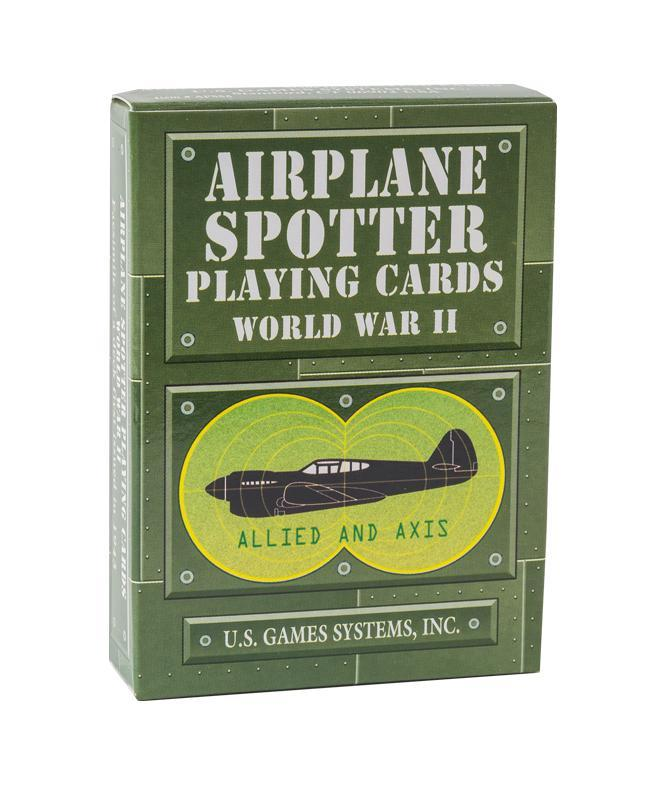 World War II Airplane Spotter Playing Cards