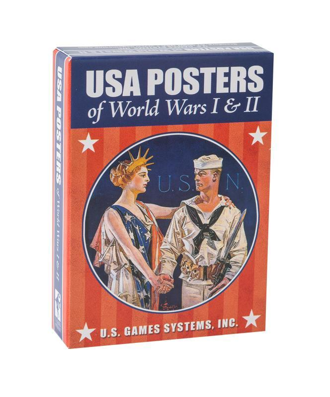 USA Posters of World Wars I & II - Playing Cards