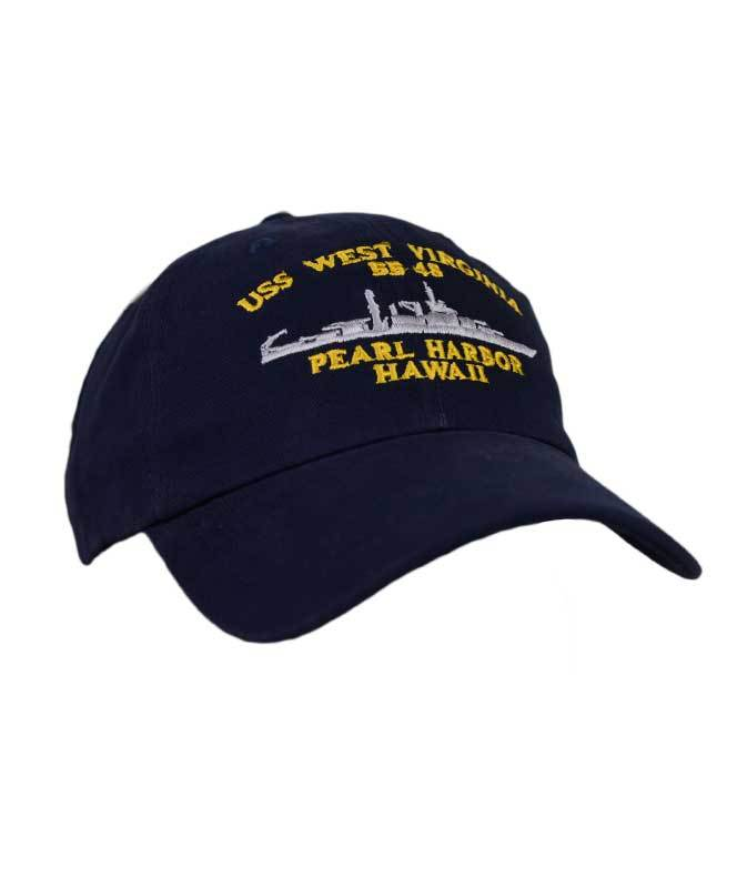 USS West Virginia BB48 Hat