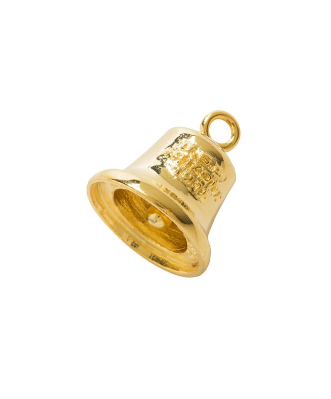 USS Arizona Bell Charm Gold Plated