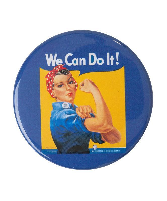 Rosie the Riveter Pin-Back Button