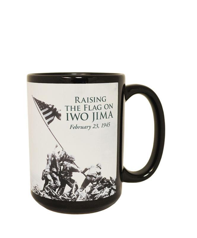 14 oz. Iwo Jima Black Coffee Mug