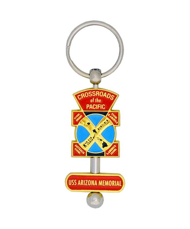 Crossroads of the Pacific Keychain