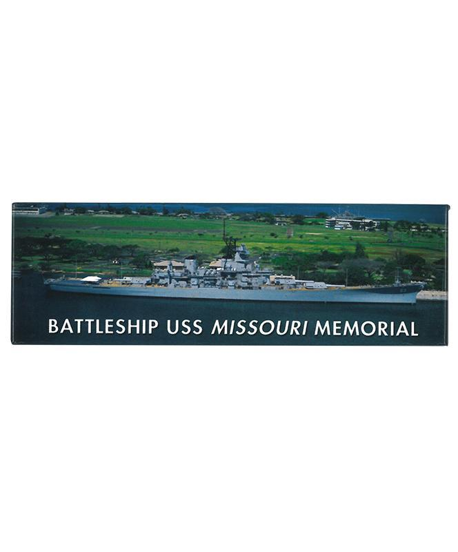 Battleship USS Missouri Memorial Magnet