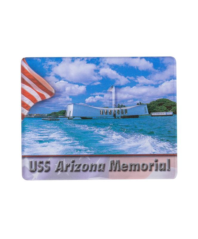 3D Magnet - USS Arizona Memorial