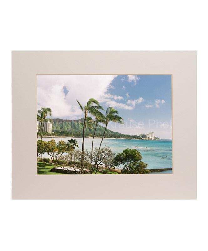 Diamond Head 5x7 Matted Photo  Print