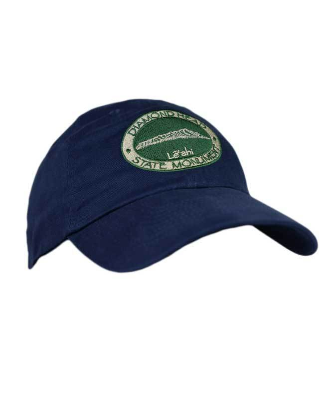 Diamond Head Logo Hat, Navy Blue