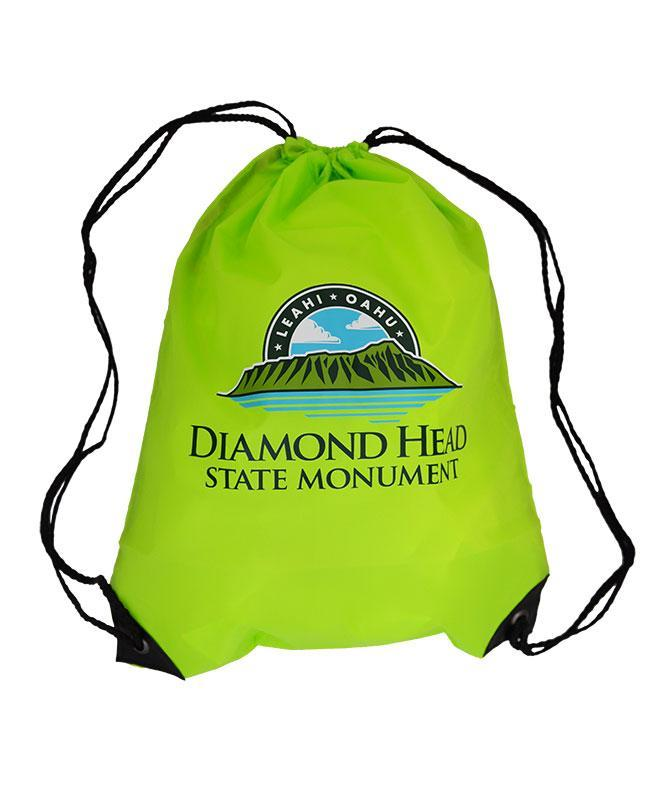 Diamond Head Backpack, Lime Green