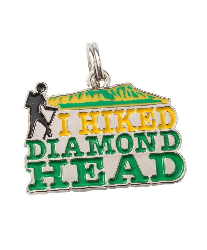 I Hiked Diamond Head Charm