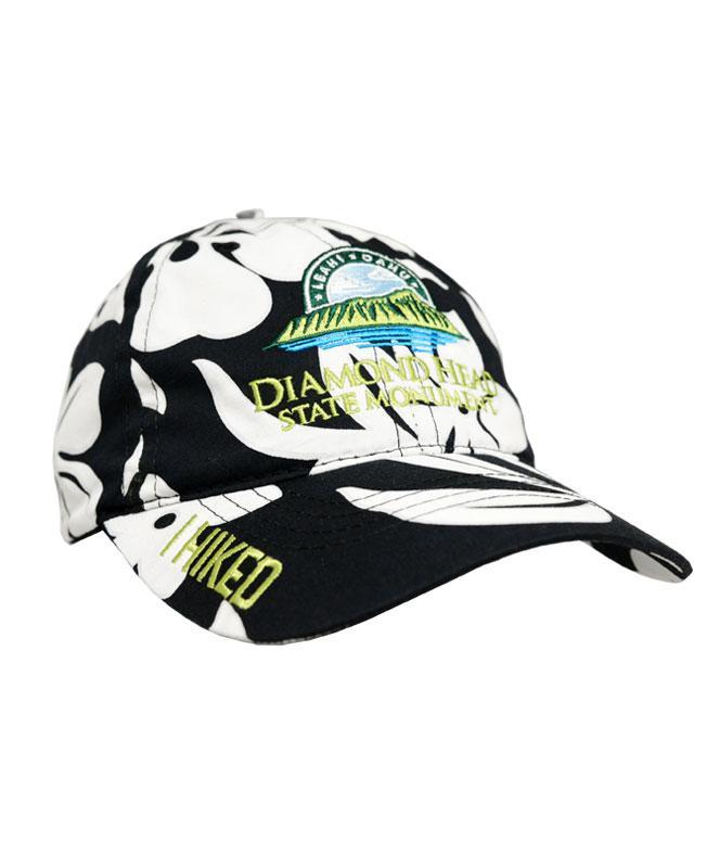 I Hiked Diamond Head State Monument Cap, Aloha Print
