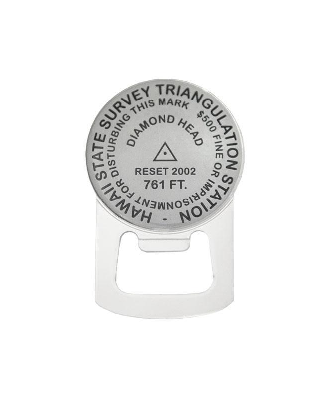 Diamond Head Benchmark Magnetic Bottle Opener
