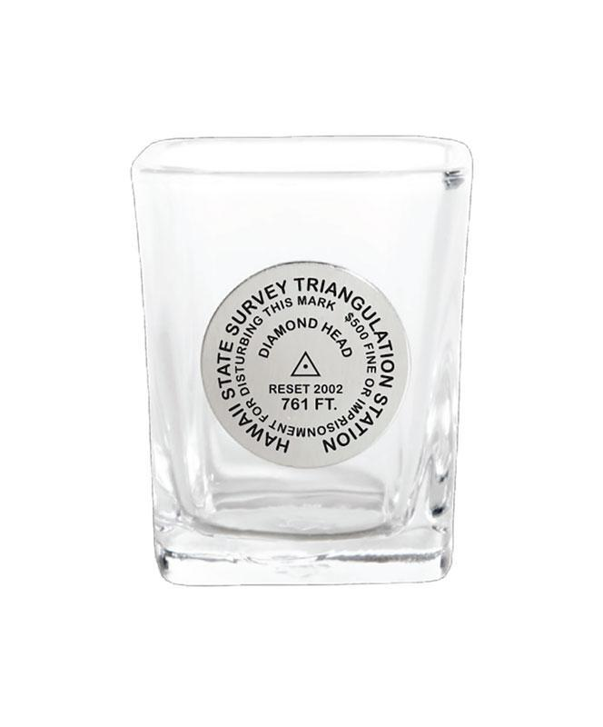 Diamond Head Benchmark Shot Glass