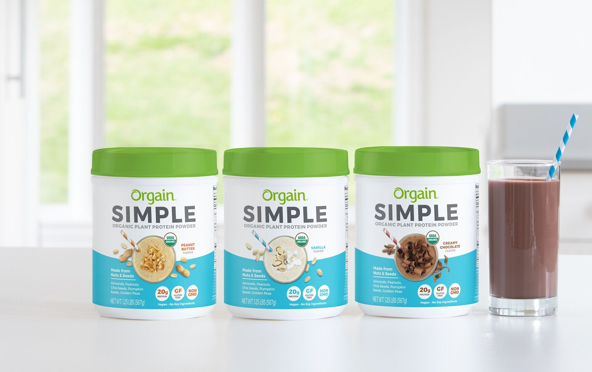 Introducing Orgain Simple Protein Powder