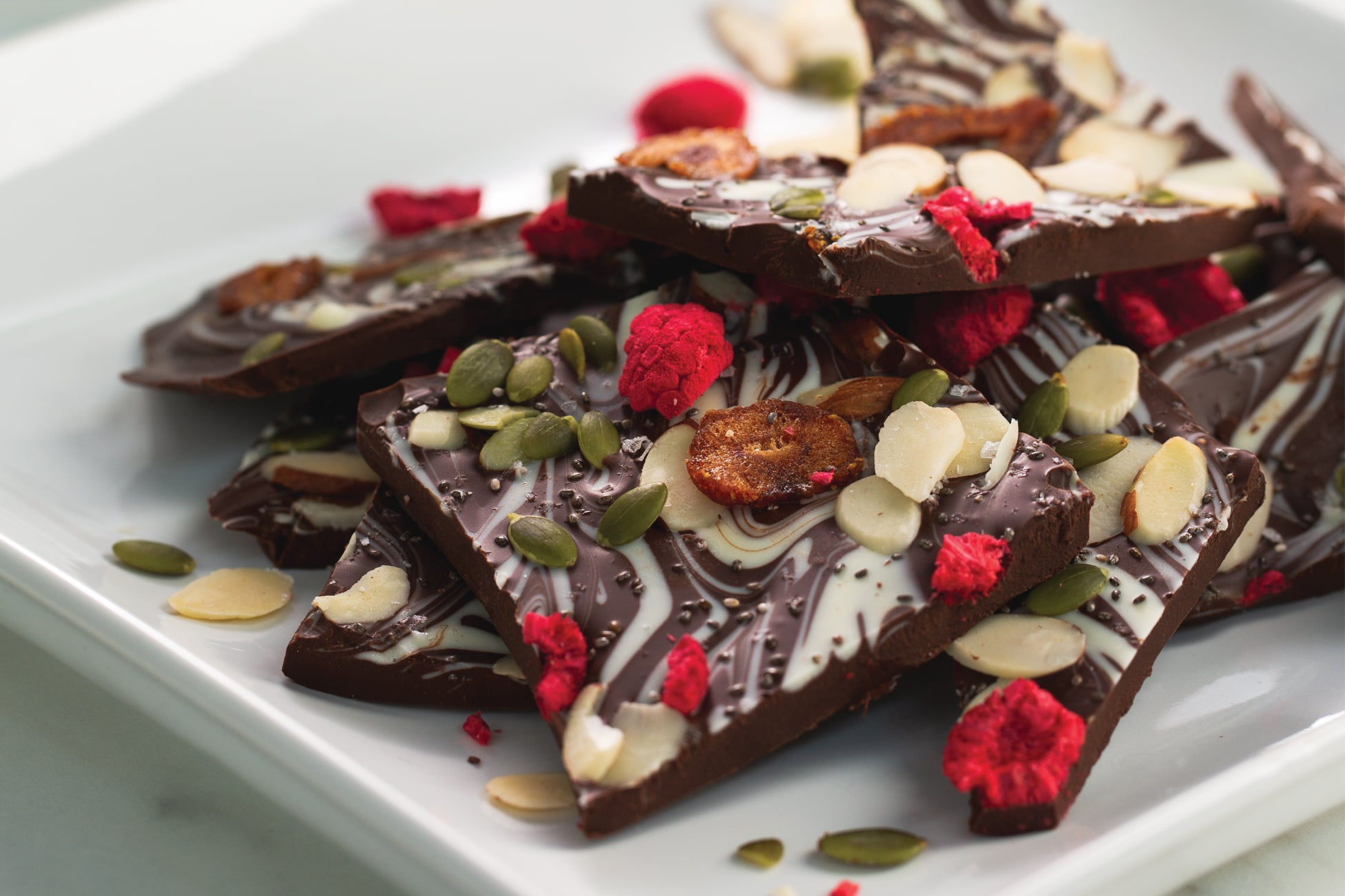 Chocolate Fruit & Nut Bark
