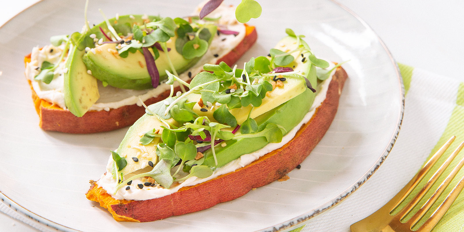 Sweet Potato Protein Toast