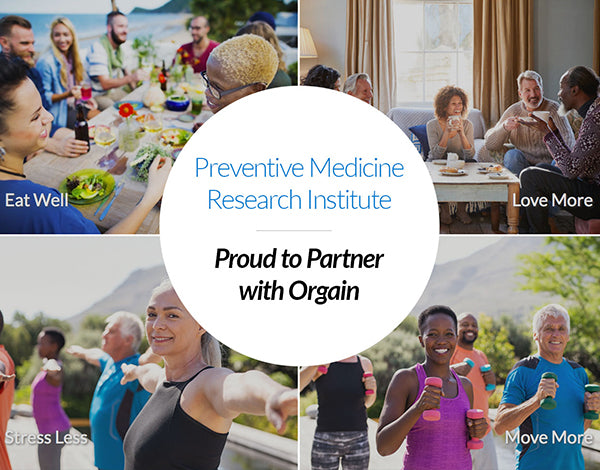Preventive Medicine Research Institute - Proud to Partner with Orgain