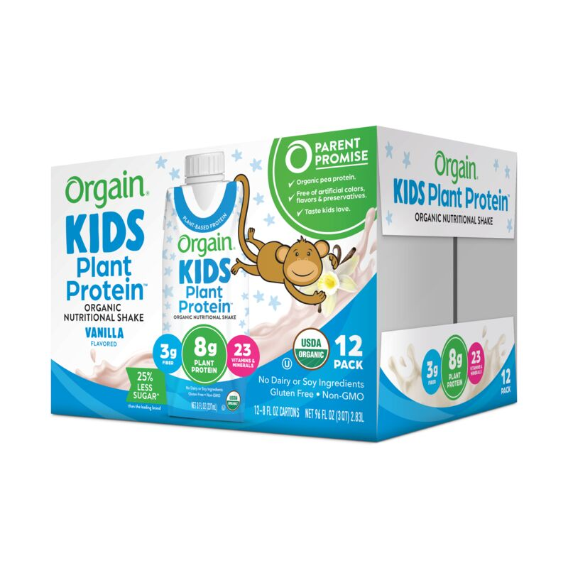 Kids Organic Plant Protein Nutritional Shake