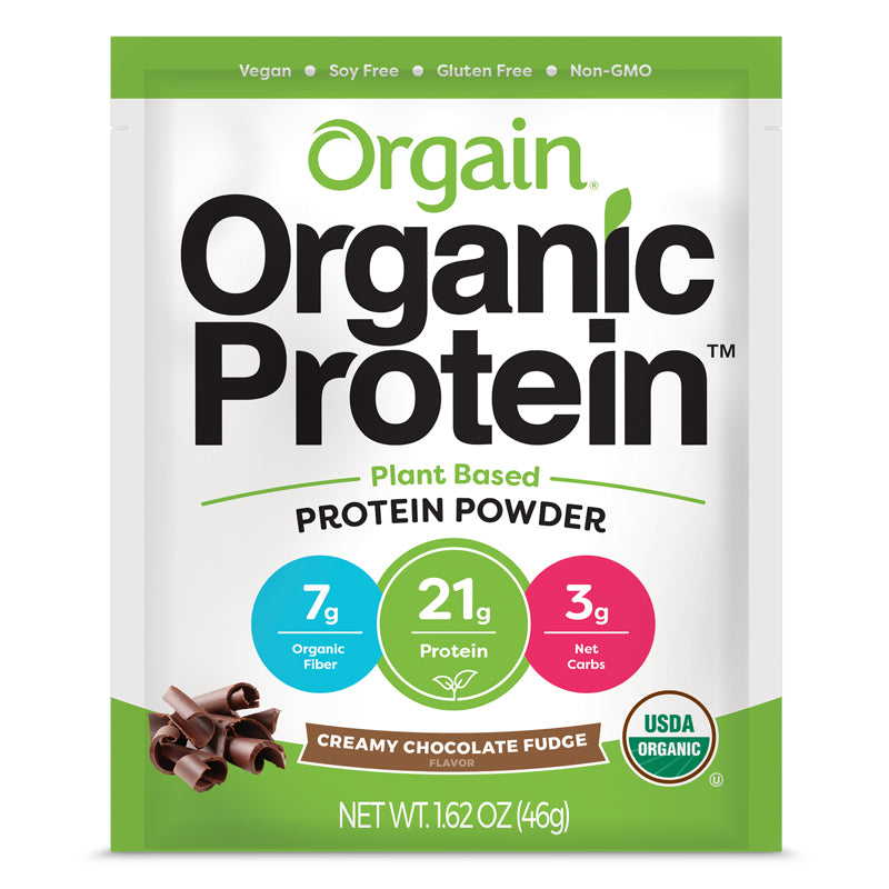 Single Serve Organic Protein™ Plant Based Protein Powder