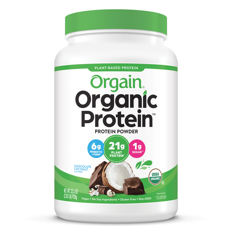 Organic Protein™ Plant Based Protein Powder - Chocolate Coconut