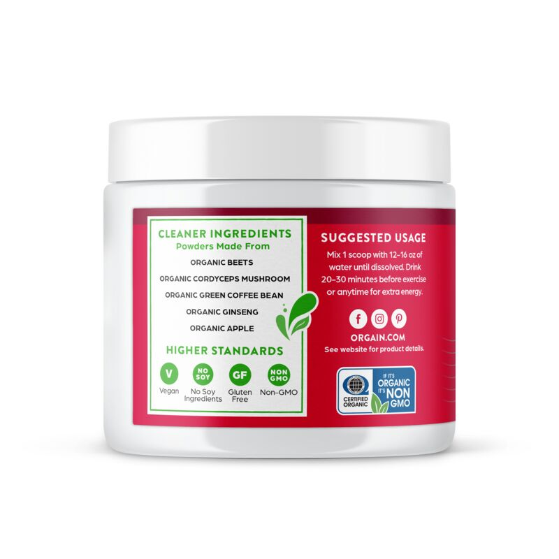 Sport Energy Organic Plant Based Powder
