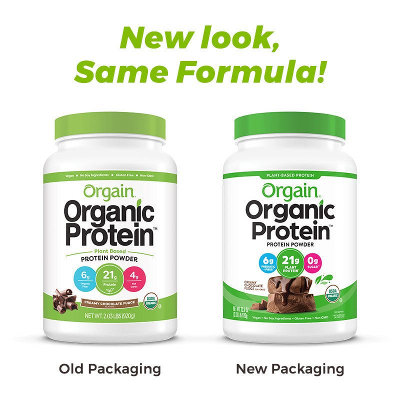 Organic Protein™ Plant Based Protein Powder