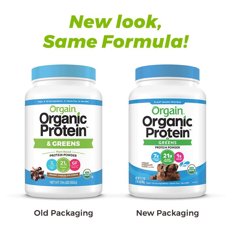 Organic Protein™ & Greens Plant Based Protein Powder
