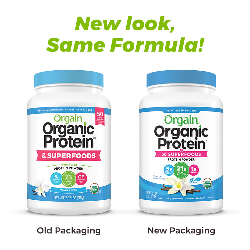 Organic Protein™ & Superfoods Plant Based Protein Powder